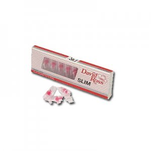 David Ross Filteraufsatz Slim 6mm 10 Stück Zigarettenfilter