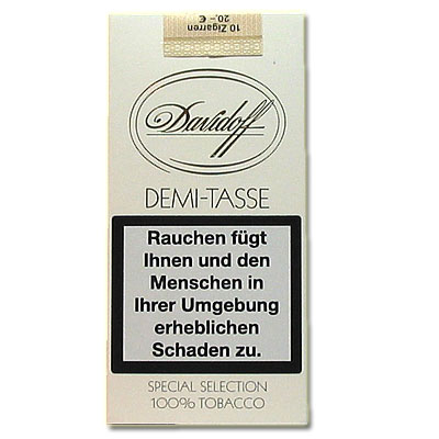 Davidoff Zigarillos Demi-Tasse 10er