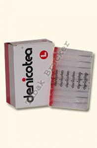 Denicotea Zigarettenfilter Lang 50 Stück