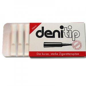 Denitip Zigarettenspitze Filterspitze Weiß