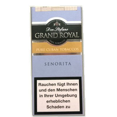 Don Stefano Grand Royal Senorita Pure Cuban 5er