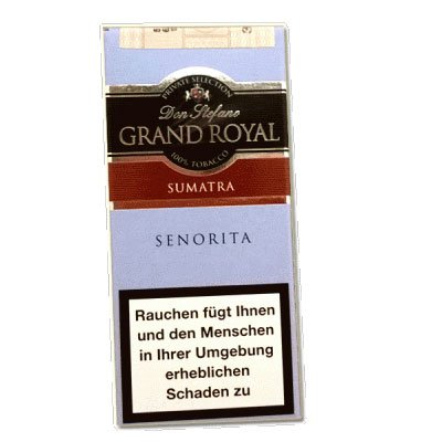Don Stefano Grand Royal Senorita Sumatra Cigarren