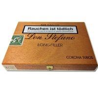 Don Stefano Longfiller Tubos 10 Stück 100 % Tabak