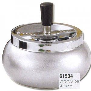 Dreh-Ascher Chrom Silber 13 cm