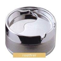 Dreh-Ascher Topsy Chrom Silber Metallic 8cm