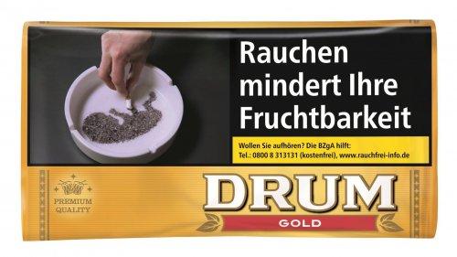 Drum Tabak Gold 30g Päckchen Zigarettentabak