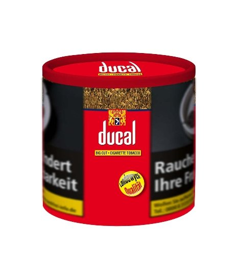 Ducal Tabak Rot Big Cut 68g Dose Zigarettentabak