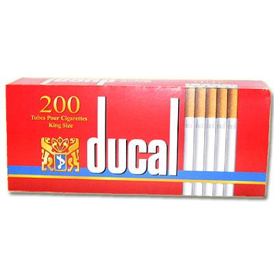 Ducal Zigarettenhülsen 200 Stück