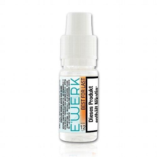 E-Liquid E WERK Best for Last 12mg Nikotin (Wassermelone)