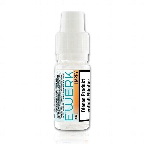 E-Liquid E WERK Happy 6mg Nikotin (Kirsche)