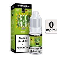 E-Liquid InnoCigs Green Angry Limette 0mg Nikotin