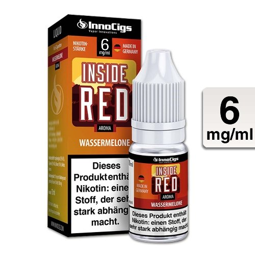 E-Liquid InnoCigs Inside Red Wassermelone 6mg Nikotin