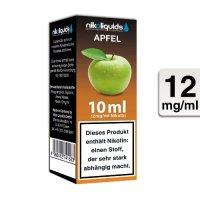 E-Liquid NIKOLIQUIDS Apfel 12 mg Nikotin
