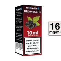 E-Liquid NIKOLIQUIDS Brombeere 16 mg