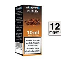 E-Liquid NIKOLIQUIDS Burley Tabak 12 mg Nikotin