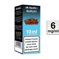 E-Liquid NIKOLIQUIDS Burley Tabak 6 mg Nikotin