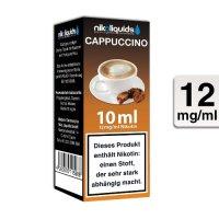 E-Liquid NIKOLIQUIDS Cappuccino 12 mg