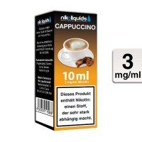 E-Liquid NIKOLIQUIDS Cappuccino 3 mg