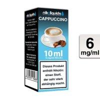 E-Liquid NIKOLIQUIDS Cappuccino 6 mg