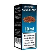 E-Liquid NIKOLIQUIDS Cuba Blend 8 mg Nikotin