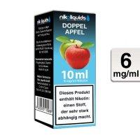 E-Liquid NIKOLIQUIDS Doppel Apfel 6 mg Nikotin