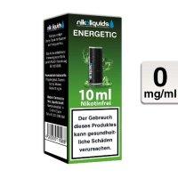E-Liquid NIKOLIQUIDS Energetic 0mg Nikotin
