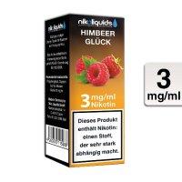 E-Liquid NIKOLIQUIDS Himbeer Glück 3mg Nikotin