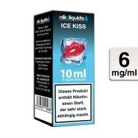 E-Liquid NIKOLIQUIDS Ice Kiss 6 mg Nikotin