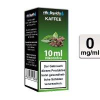 E-Liquid NIKOLIQUIDS Kaffee 0mg ohne Nikotin