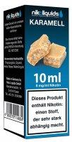 E-Liquid NIKOLIQUIDS Karamell 8 mg Nikotin