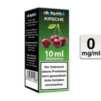 E-Liquid NIKOLIQUIDS Kirsche 0mg ohne Nikotin