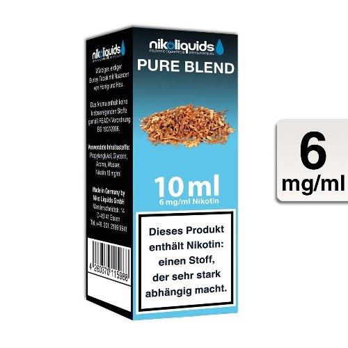 E-Liquid NIKOLIQUIDS Pure Blend 6 mg