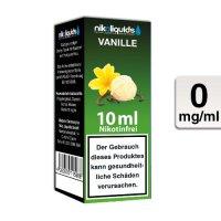 E-Liquid NIKOLIQUIDS Vanille 0mg ohne Nikotin
