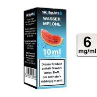 E-Liquid NIKOLIQUIDS Wassermelone 6mg Nikotin 50 VG / 50 PG