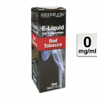 E-Liquid SILVERCIG Red Tobacco 0mg ohne Nikotin