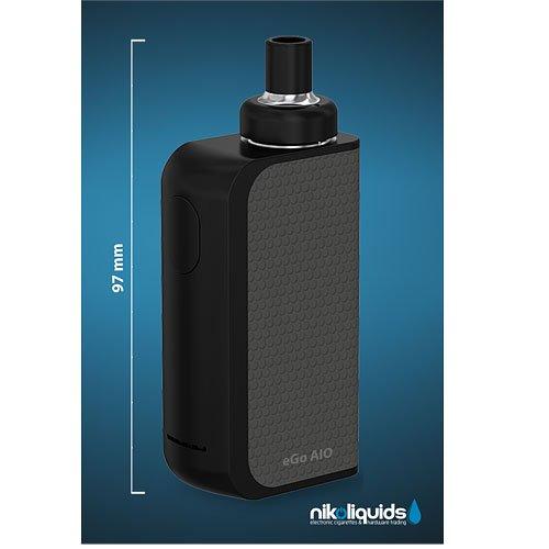 E-Zigarette Nikoliquids Joyetech AIO-BOX-SET Schwarz