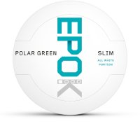 EPOK Polar Green Slim Chewing Bags Einsteiger