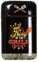 Easy Torch 8 Jet Feuerzeug Relief Born to Grill King of the Grill