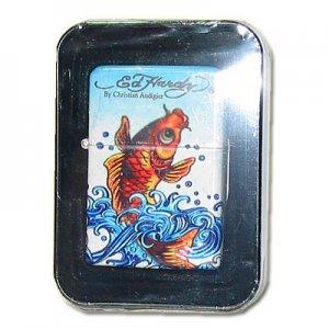 Ed Hardy Z-Plus Sturmfeuerzeug Fisch