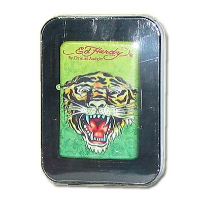Ed Hardy Z-Plus Sturmfeuerzeug Tattoo Tiger