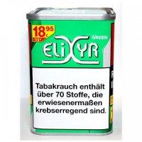 Elixyr Tabak Menthol Green 110g Dose