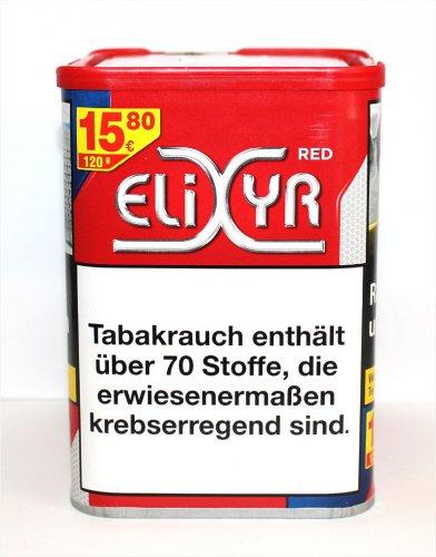 Elixyr Tabak Rot 115g Dose bei Tabak Brucker online kaufen