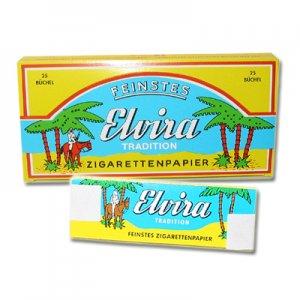 Elvira Zigarettenpapier 1x50 Blättchen Einzelpackung