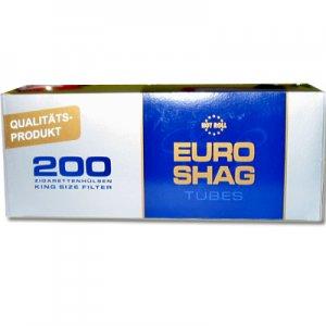 Euro Shag Zigarettenhülsen 200 Stück