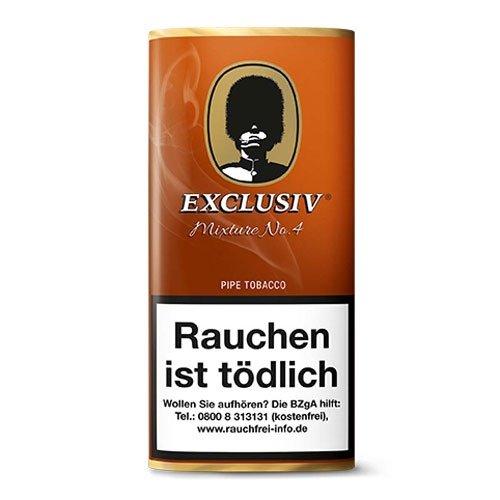 Exclusiv Mixture No 4 (Cavendish) 50g Packung Pfeifentabak