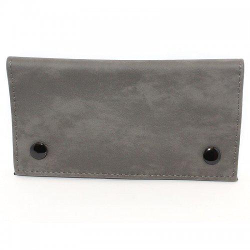 Feinschnitt-Tasche Zorr dunkelgrau