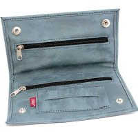 Feinschnitt Tasche Zorr grau blau