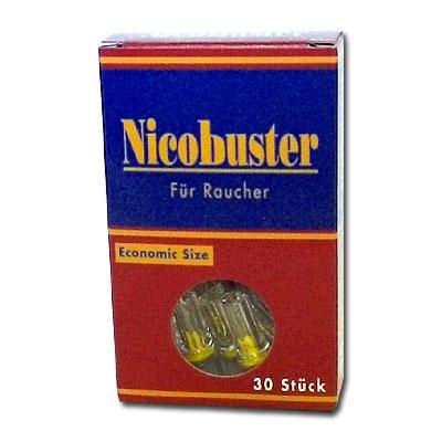 Filteraufsatz Nicobuster 8mm Zigarettenfilter 30 Stück