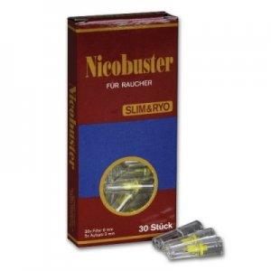 Filteraufsatz Nicobuster 6mm Slim & RYO Micro-Zigarettenfilter