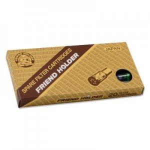 Friend Holder Filtereinsatz  20 Stück Zigarettenfilter